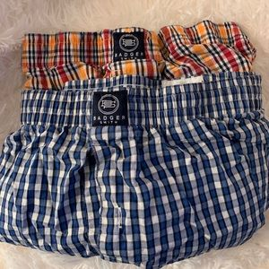 NWOT badger smith boxers